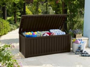 Gartenbox Kissenbox