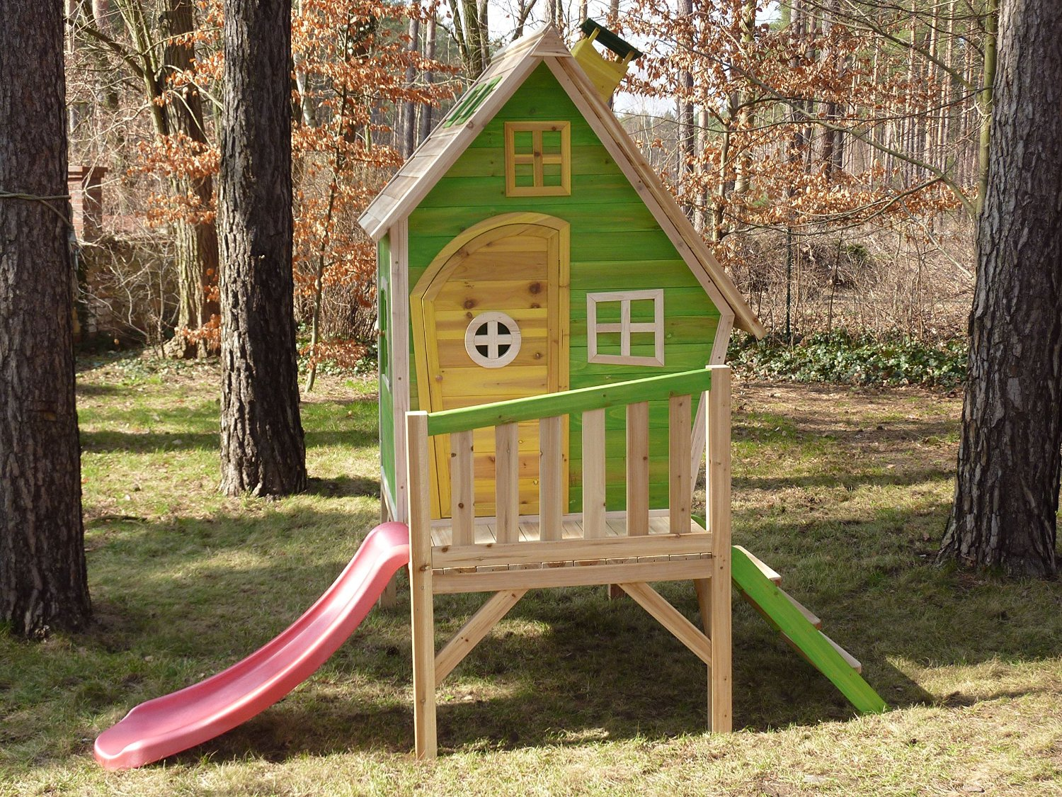 Kinderspielhaus Holz Greenseason
